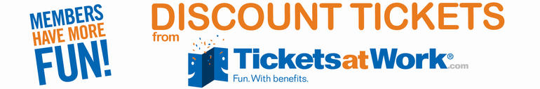 Discount Tickets from TicketsatWork